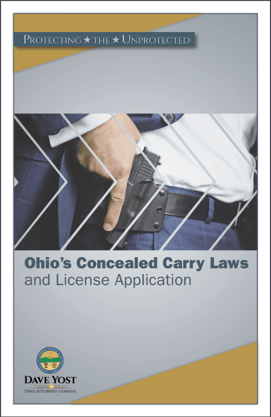 Ohio Attorney General Concealed Carry Law Summary